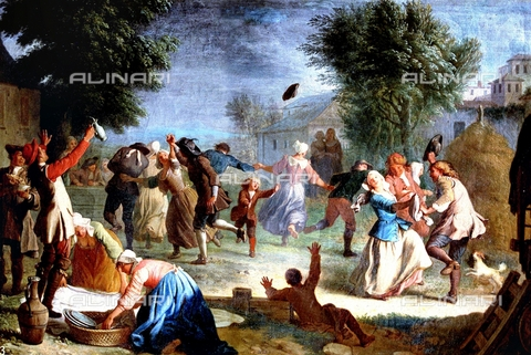 IFA-S-AAA005-8523 - Country festival, oil on canvas, Houasse, Miguel Angel (1680-1730), Royal Palace, Madrid - Index/Alinari Archives, Florence