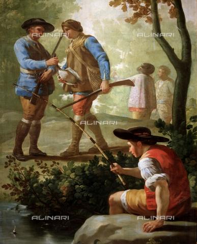IFA-S-AAA005-8527 - Pescatore, olio su tela, Francisco de Goya Y Lucientes (1746-1828), Museo del Prado, Madrid - Index/Archivi Alinari, Firenze