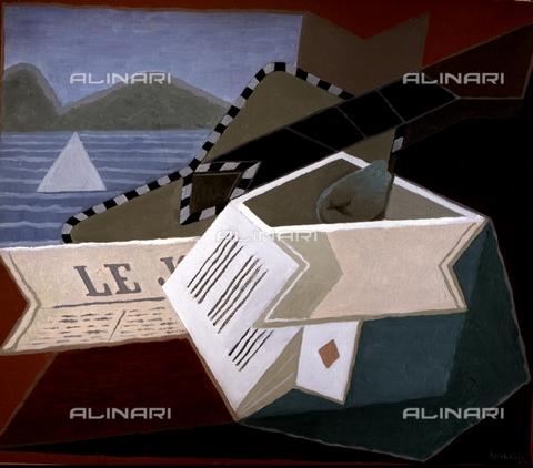 IFA-S-AAA005-8611 - Chitarra davanti al mare, olio su tela, Juan Gris (1887-1927), Museo Nacional Centro de Arte Reina Sofia, Madrid - Index/Archivi Alinari, Firenze
