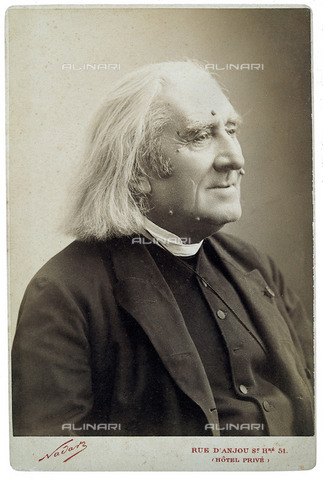 IMA-F-130538-0000 - Franz Liszt, 1875 ca. - Date of photography: 1875 ca. - Imagno/Alinari Archives