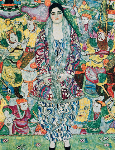 IMA-F-418685-0000 - Portrait of Friederike Maria Beer, oil on canvas, Gustav Klimt (1862-1918), Mizne-Blumental Collection, Tel Aviv Museum of Art, Tel Aviv - Austrian Archives / Imagno/Alinari Archives