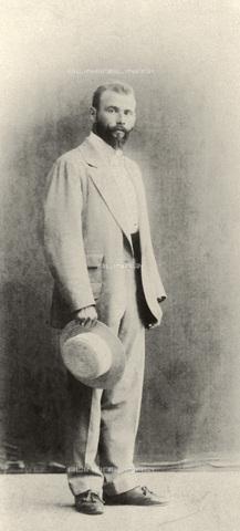 IMA-F-621210-0000 - Portrait of Gustav Klimt (1862-1918) - Data dello scatto: 1890 ca. - Austrian Archives / Imagno/Alinari Archives
