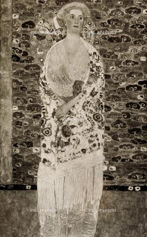IMA-F-621283-0000 - Portrait of Paula Zuckerkandl, oil on canvas, Gustav Klimt (1862-1918) - Austrian Archives / Imagno/Alinari Archives