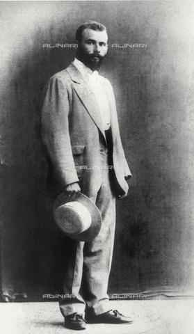 IMA-F-621967-0000 - Portrait of the painter Gustav Klimt (1862-1918) as young - Data dello scatto: 1892 - Austrian Archives / Imagno/Alinari Archives