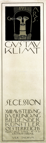 IMA-F-622346-0000 - Poster of the first exhibition of the Vienna Secession, lithograph, Gustav Klimt (1862-1918), Wien Museum, Vienna - Wien Museum / Imagno/Alinari Archives