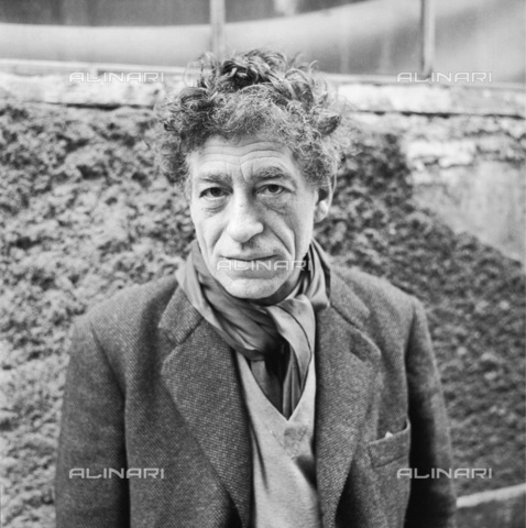 IMA-F-645370-0000 - The sculptor, painter and engraver Alberto Giacometti (1901-1966) - Data dello scatto: 1957 - Franz Hubmann / Imagno/Alinari Archives