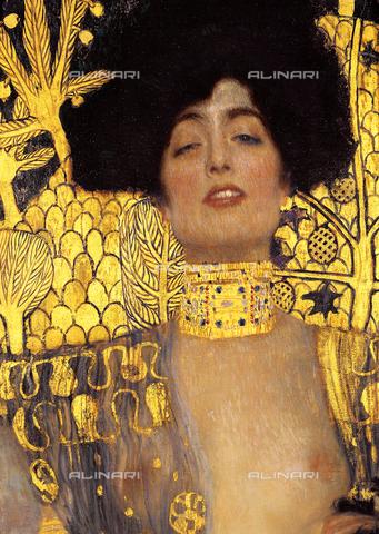 IMA-S-120844-000A - Particolare della Giuditta I, dipinto di Gustav Klimt conservato nell'Österreichisches Galerie im Belvedere di Vienna - Imagno/Archivi Alinari