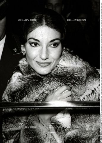 INT-F-050829-0000 - Portrait of the soprano Maria Callas (1923-1977) - Data dello scatto: 1950 ca. - Friedrich / Interfoto/Alinari Archives