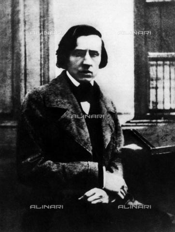 INT-F-212219-0000 - Portrait of the Polish composer Fryderyk Chopin (1810-1849); daguerreotype by Louis Brüdern (1814 - 1876) and Auguste Bisson (1826 - 1900) - Data dello scatto: 1849 - Sammlung Rauch / Interfoto/Alinari Archives