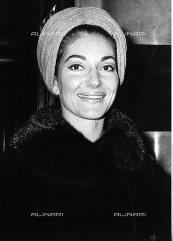 INT-F-565978-0000 - Portrait of the soprano Maria Callas (1923-1977) - Data dello scatto: 1950 ca. - Brown / Interfoto/Alinari Archives
