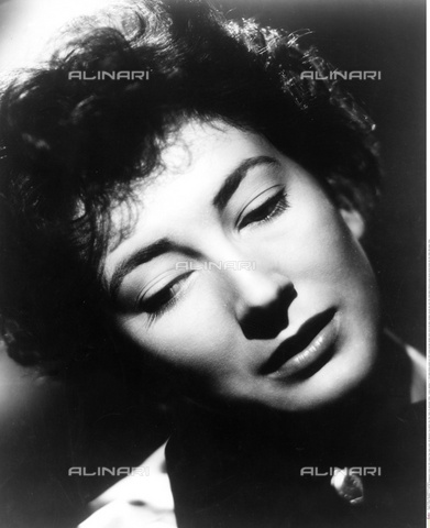 INT-S-000110-5487 - The actress Valentina Cortese - Data dello scatto: 1950 ca. - Friedrich / Interfoto/Alinari Archives