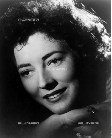 INT-S-000110-5494 - The actress Valentina Cortese - Data dello scatto: 1950 ca. - Friedrich / Interfoto/Alinari Archives