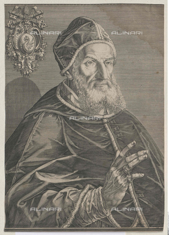 INT-S-003533-9058 - Portrait of Pope Gregory XIII (1502-1585) - Austrian National Library / Interfoto/Alinari Archives