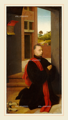 LCA-F-003671-0000 - Ritratto di un donatore, olio su tavola, Petrus Christus (1410 ca.-1475), National Gallery of Art, Washington D.C. - Liszt Collection/Archivi Alinari