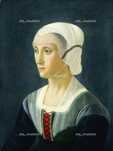 LCA-F-004924-0000 - Lucrezia Tornabuoni, tempera and oil on panel, Domenico Ghirlandaio (1449-1494) (attr.), National Gallery of Art, Washington, D.C. - Liszt Collection/Alinari Archives