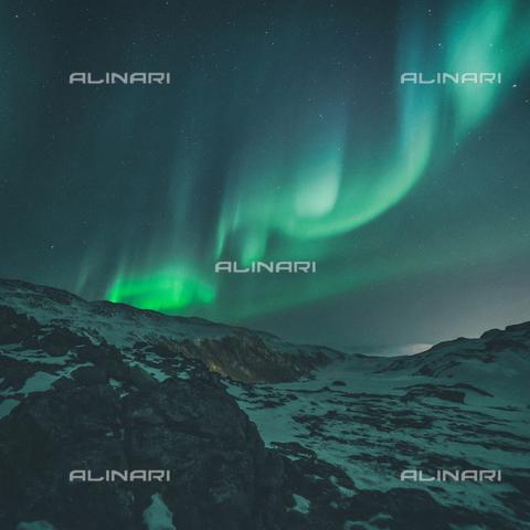 LCA-F-005052-0000 - Aurora verde con cielo stellato - Liszt Collection/Archivi Alinari, Quint Lox