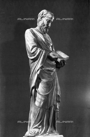 LFA-S-00000H-0202 - Statua di San Marco, Torcello, Venezia - Data dello scatto: 1950 ca. - Archivi Alinari, Firenze
