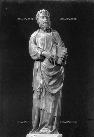 LFA-S-00000H-0703 - Statua di San Bartolomeo, Torcello, Venezia - Data dello scatto: 1950 ca. - Archivi Alinari, Firenze