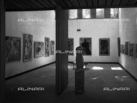 LFA-S-00000M-0014 - Ingresso alla Biennale di Venezia - Data dello scatto: 1950 ca. - Archivi Alinari, Firenze
