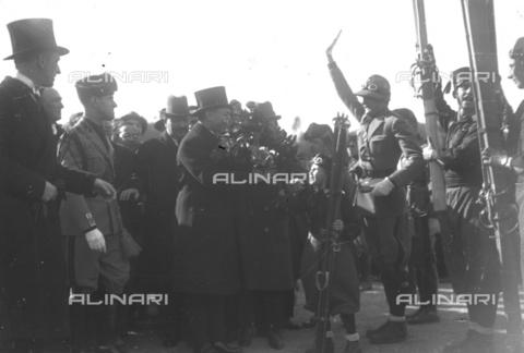 LLA-S-00MM29-0003 - Benito Mussolini (1883-1945) all'inaugurazione del Foro Mussolini - Data dello scatto: 04/11/1932 - Archivio Luigi Leoni / Archivi Alinari