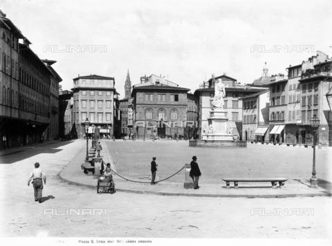MAA-F-001375-0000 - Monument to Dante Alighieri, Piazza Santa Croce, Florence