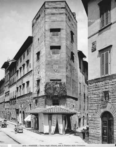 MAA-F-001673-0000 - Tower of the Alberti, Florence