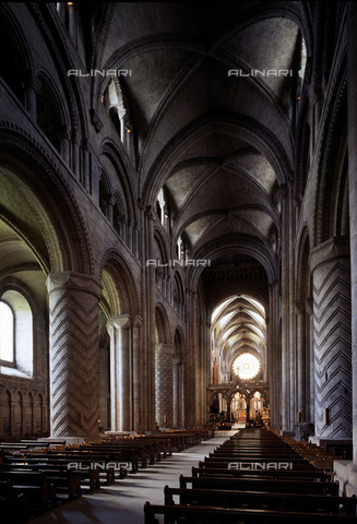 MBA-F-022911-0000 - Interior of Durham Cathedral - Data dello scatto: 01/03/2006 - Florian Monheim / Bildarchiv Monheim / Alinari Archives