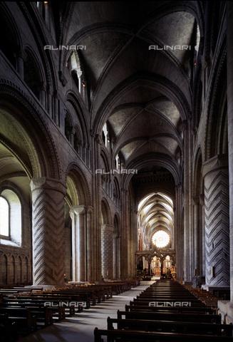 MBA-F-022911-0000 - Interno della Cattedrale Durham - Data dello scatto: 01/03/2006 - Florian Monheim / Bildarchiv Monheim / Archivi Alinari