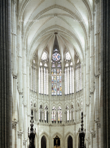 MBA-F-023040-0000 - Apse of the Notre Dame Cathedral,  Amiens - Jochen Helle / Bildarchiv Monheim / Alinari Archives