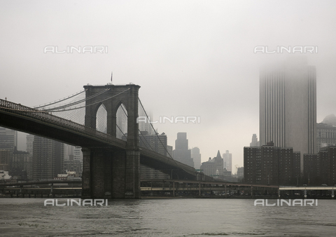MBA-F-065259-0000 - The Brooklyn Bridge in New York - Data dello scatto: 19/03/2008 - Jochen Helle / Bildarchiv Monheim / Alinari Archives