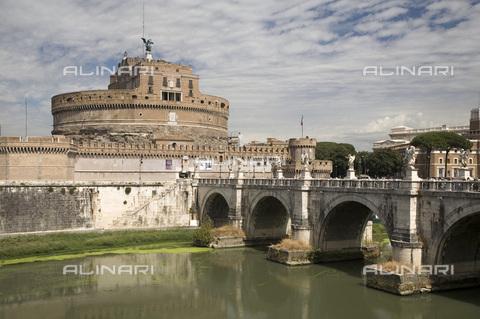 MBA-F-065903-0000 - Castel Sant'Angelo detto Mausoleo di Adriano, Roma - Achim Bednorz / Bildarchiv Monheim / Archivi Alinari