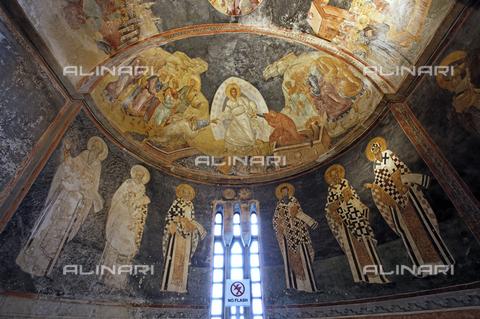MBA-F-077396-0000 - Affreschi nell'abside della Chiesa di San Salvatore in Chora (Kariye Camii Muzesi) a Istanbul - Jochen Helle / Bildarchiv Monheim / Archivi Alinari