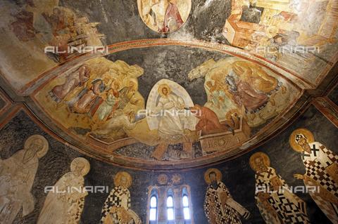 MBA-F-077397-0000 - Affreschi nell'abside della Chiesa di San Salvatore in Chora (Kariye Camii Muzesi) a Istanbul - Jochen Helle / Bildarchiv Monheim / Archivi Alinari