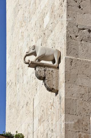MBA-F-077783-0000 - Particolare della Torre dell'Elefante a Cagliari - Data dello scatto: 30/06/2012 - Peter Eberts / Bildarchiv Monheim / Archivi Alinari