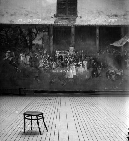 """MFA-S-0SN120-000D - The painting """"Le serpi"""" - Data dello scatto: 1900 ca. - Archivi Alinari, Firenze"""