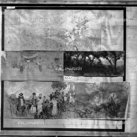 MFA-S-0SN432-000S - Series of landscapes and animated scenes - Data dello scatto: 1900 ca. - Archivi Alinari, Firenze