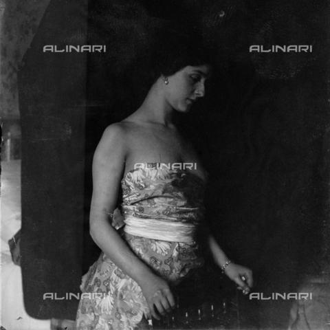 MFA-S-0SN438-000S - Portrait of Lina Cavalieri - Data dello scatto: 1909 - Archivi Alinari, Firenze