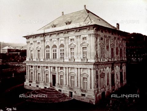 MFC-A-004642-0003 - Palazzo Scassi in the environs of Genoa - Data dello scatto: 1870-1880 ca. - Archivi Alinari, Firenze