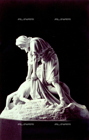 MFC-F-000428-0000 - Sculpture group - Date of photography: 1870 ca. - Fratelli Alinari Museum Collections-Malandrini Collection, Florence