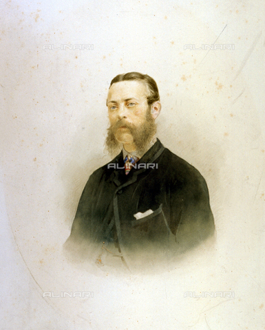 MFC-F-001011-0000 - Half-length portrait of a man with beard and moustache - Data dello scatto: 1854 ca. - Archivi Alinari, Firenze