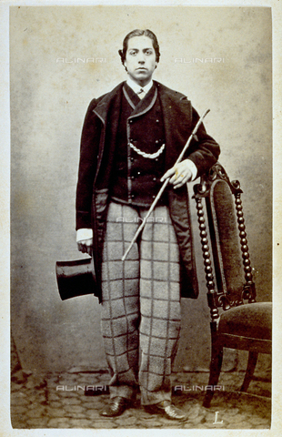 MFC-F-001325-0000 - Portrait of a young nobleman - Data dello scatto: 1860-1870 ca. - Archivi Alinari, Firenze