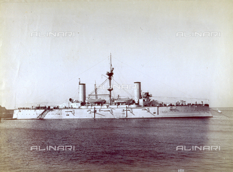 MFC-F-002238-0000 - The argentine battle cruiser 'Garibaldi' - Data dello scatto: 1890 ca. - Archivi Alinari, Firenze