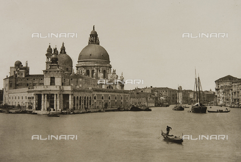 MFC-S-001456-0046 - View of Venice with the Punta della Dogana on the right and the Church of S. Maria della Salute in the background