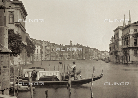 MFC-S-001600-0057 - Animated view of the Grand Canal, Venice