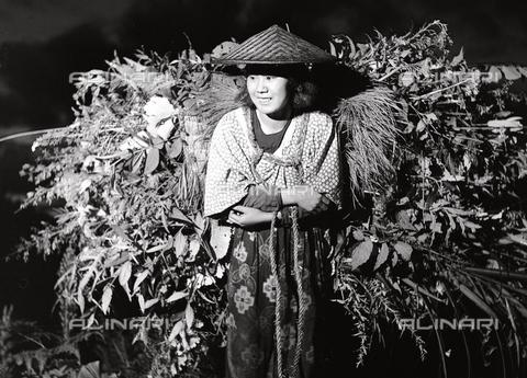 MFV-F-JBN168-0000 - Contadinella, Ohara (presso Kyoto) - Data dello scatto: 1960 ca. - Fosco Maraini/Proprietà Gabinetto Vieusseux©Fratelli Alinari
