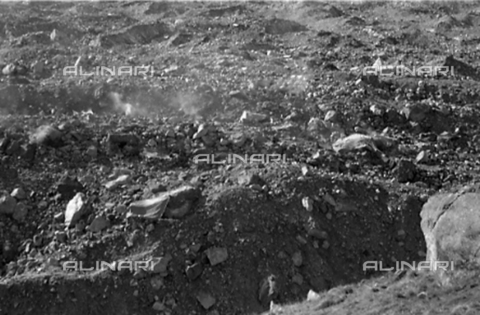 MFV-S-CAI021-0557 - CAI expedition to Gasherbrum IV in the Karakorum massif: Moraines of the Baltoro Glacier - Date of photography: 30/04/1958-03/09/1958 - Fosco Maraini/Gabinetto Vieusseux Property©Fratelli Alinari