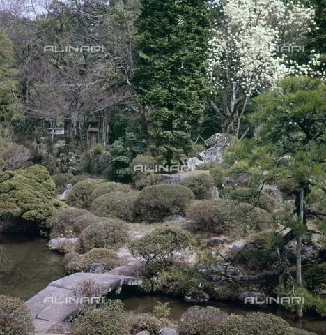 MFV-S-JPN040-0005 - Erin-ji temple garden in Kofu - Date of photography: 1963 - Fosco Maraini/Gabinetto Vieusseux Property©Fratelli Alinari