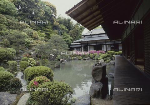 MFV-S-JPN369-0063 - Detail of the Chishaku-in temple in Kyoto - Date of photography: 1963-1991 - Fosco Maraini/Gabinetto Vieusseux Property©Fratelli Alinari