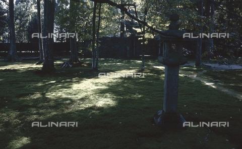 MFV-S-JPN369-0121 - Tempio di Sanzen-in, particolare del giardino, Ohara, Kyoto - Data dello scatto: 1963-1991 - Fosco Maraini/Proprietà Gabinetto Vieusseux©Fratelli Alinari
