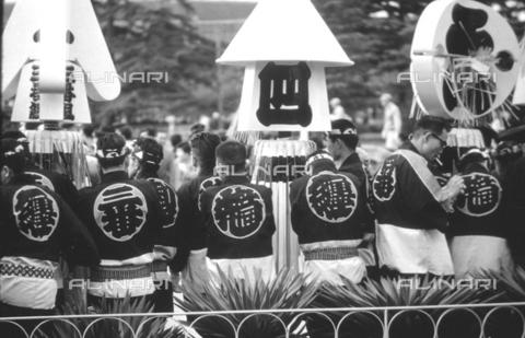 MFV-S-V00133-0038 - Traditional Japanese festival - Date of photography: 1959-1963 - Fosco Maraini/Gabinetto Vieusseux Property©Fratelli Alinari